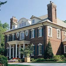 Clasic Colonial Homes by Brick Siding Ideas Georgian Colonial And Bricks