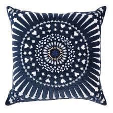 Sphere Interiors Mayan Sphere Navy Cushion Cushions Throws And Quilts