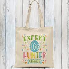 personalized easter personalized easter tote bag expert egg
