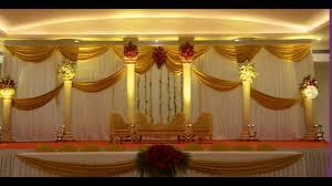 madurai decorators new ideas of wedding stage decoration youtube