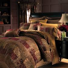 red and gold croscill bedding sets modern home decor croscill