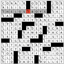 easy crossword puzzles about movies rex parker does the nyt crossword puzzle handmade products website