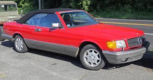 1986 mercedes 560 sec file 1986 mercedes 560 sec convertible conversion front jpg