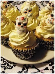 tres leches cupcakes for dia de los muertos