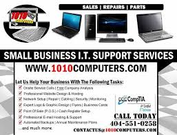 It Technician Business Card 1010computers Llc Web Design 1107 Mcdonough Pl Mcdonough Ga