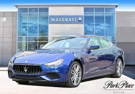 ghibli maserati blue 2018 blue maserati ghibli 3 0 l for sale park place