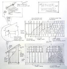 Free Saltbox Wood Shed Plans by Garden Sheds February 2015