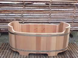 spa d exterieur bois baignoire en bois fabriquée en france o u0027biozz