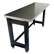 heavy duty stainless steel top workbench from just pro tools australia
