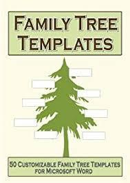 amazon com family tree templates