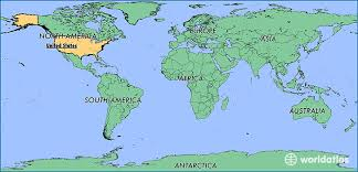 map of the united states showing states and cities where is the united states of america where is the united