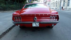 1968 mustang rear end 1968 ford mustang fastback in budapest