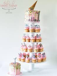 ice cream cone drip cake u2013 thenovelbaker com