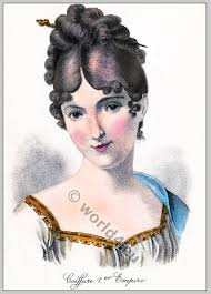 empire hairstyles juliette récamier coiffure 1st empire costume history