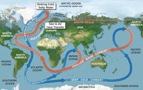 Map Of The Gulf Stream The Day Before Yesterday When Abrupt Climate Change Came To The