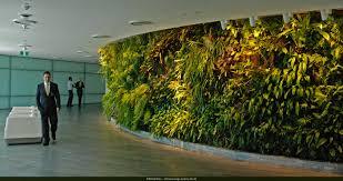 Vertical Indoor Garden by Qantas Lounge Sydney Vertical Garden Patrick Blanc