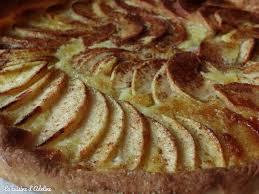 cuisine tarte aux pommes tarte aux pommes alsacienne la cuisine d adeline