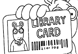 library coloring page the art gallery library coloring pages at