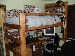 Build A Loft Bed With Desk Loft Beds With Desks