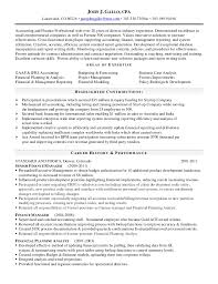 cpa resume gallo cpa resume current