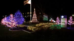christmas light park near me nela park holiday lights hower house museum display and recycle