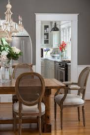 Coastal Dining Room Sets Coastal Dining Room With Beachy Blue Chairs Trends And Grey Table