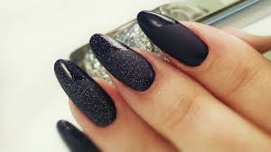 three top coat matte nail art designs elegant balck with sighning