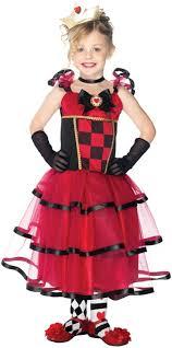 halloween costume queen of hearts wonderland queen of hearts kids costume mr costumes