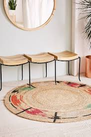 round entryway rugs standing desk ergonomics stainless steel cable
