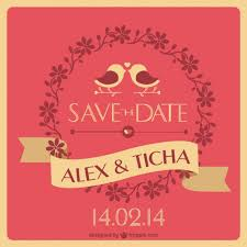 Cool Wedding Invitations Unique Wedding Invitation Vector Free Download