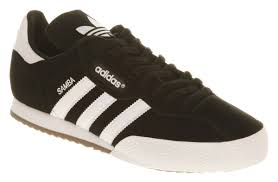 black samba mens adidas samba black suede trainers shoes ebay