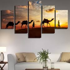 Wall Paintings For Living Room Camel Painting Promotion Shop For Promotional Camel Painting On
