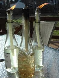 diy wine bottle tiki torches wine bottle tiki torch tiki torches