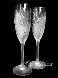 wedding glasses painted wine glasses search wedding wine