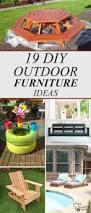 Diy Outdoor Furniture 19 Amazing Diy Outdoor Furniture Ideas