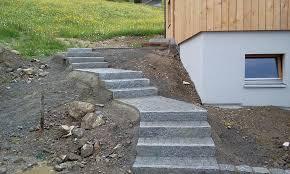 treppe naturstein granit naturstein treppe raggal austria naturaflaire