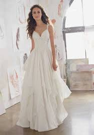 chiffon wedding dress morilee by madeline gardner wedding dresses