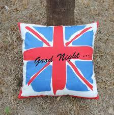 Blue Union Jack Cushion Aliexpress Com Buy Vezo Home New Good Night Union Jack Cotton