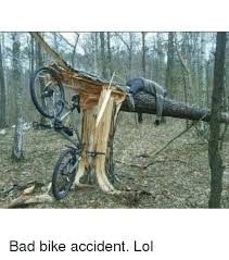 Bike Crash Meme - bad bike accident lol dank meme on me me