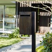 a contemporary home needs a contemporary mailbox contemporary