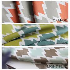 Geometric Pattern Curtains Shop Geometric Pattern Window Curtains For Living Room