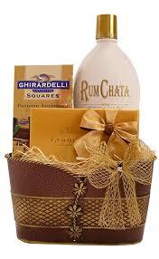 build a gift basket build a basket golden treasures rum chata gift basket medium