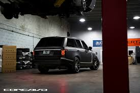 matte black range rover matte black range rover concavo cw s5 the auto firm