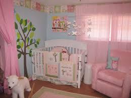 Gray And Pink Nursery Decor by Baby Nursery Astonishing Image Of Owl Theme Baby Nursery