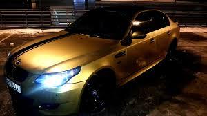 bmw e60 gold bmw 5 series desert gold drive2