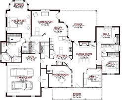 floor plans design 4 5 bedroom house plans this southern design floor plan is sq ft