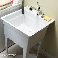 How To Install Wall Cabinets In Laundry Room Laundry Room Ideas The Family Handyman