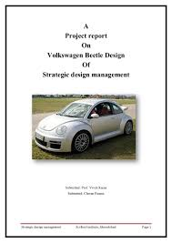 volkasvegon beetle product design