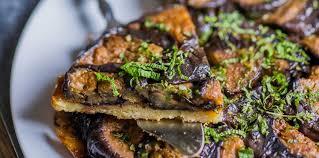 cuisiner les aubergines facile tarte tatin d aubergines facile et pas cher recette sur cuisine