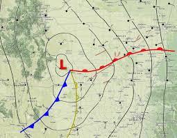 Tornado Map April 9 1947 U2013 The Woodward Tornado Stormstalker